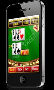 blackjack op je mobiel